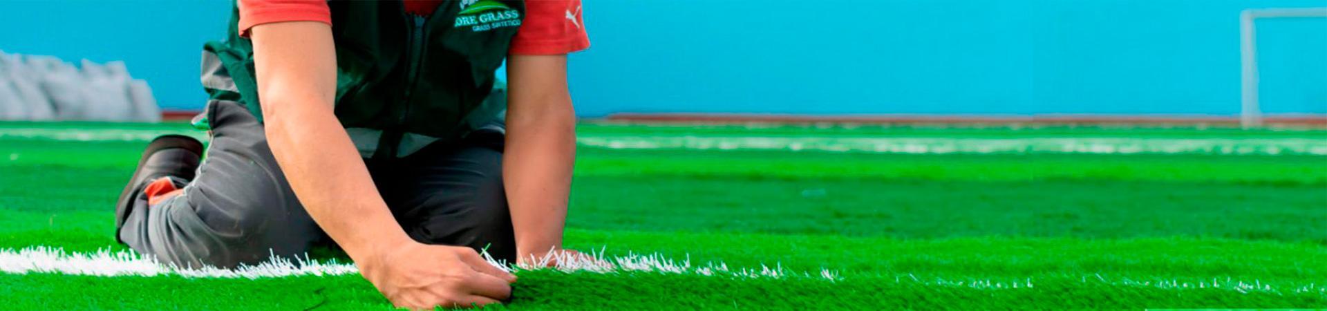 Instalación de Grass Sintético